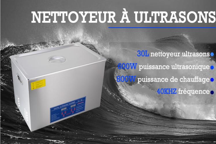 nettoyeur bac ultrason professionnel